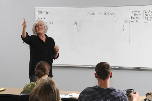 Vicki Hoefle Teaching